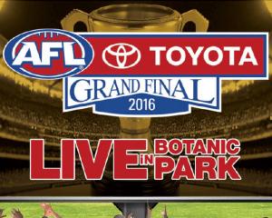 AFL TOYOTA GRAND FINAL LIVE IN BOTANIC PARK