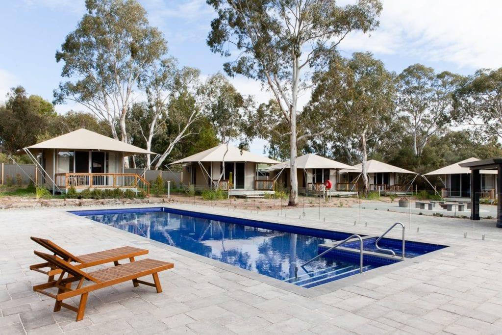 Luxury Safari Tents Discovery Parks Barossa Valley, South Australia